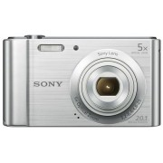 Aparat Foto Sony Cyber-Shot W800 (Argintiu), HD Ready, 20.1 MP