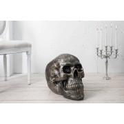 Plastika Byron lebka 40cm bronzová