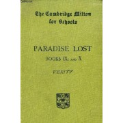 Paradise Lost, Books Ix And X