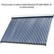 Panou solar cu tuburi vidate Westech SP-S58/1800A-18 cu rama montaj