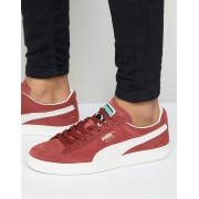 Puma Suede Classic Trainers In Red 35263475 - Red (Sizes: UK 8, UK 7, UK 11, UK 9.5, UK 10, UK 9, UK 11.5, UK 7.5, UK 8.5, UK 5, UK 4, UK 6.5, UK 12, UK 6)
