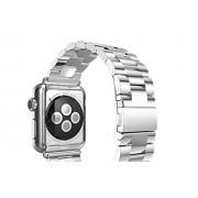 Edelstahl Armband für Apple Watch Uhrenband mit Uhrband Regler Connector Adapter Strap Genuine 42mm, von Kobert-Goods