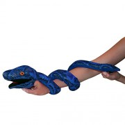 The Puppet Company Snakes Blue Snake Puppet [Toy]