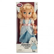"""Disney Animators' Collection Princess Cinderella Toddler Doll - 16"""" with Plush Friend Jaq the Mouse"""
