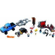 Set Constructie Lego Speed Champions Ford F-150 Raptor Si Ford Model A Hot Rod