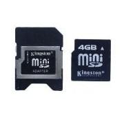 Карта памет Kingston 4 GB Mini SD Card