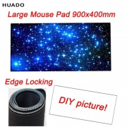 Custom Large Game Mouse Pad 900*400 high quality DIY picture with edge locking