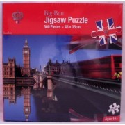 Diamond Jubilee: London Bridge and Big Ben 500pc Jigsaw Puzzle by Downtown