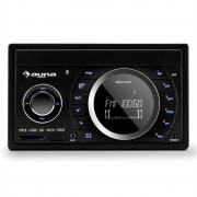Auna MD-210 BT RDS Auto rádio Bluetooth USB SD MP3 microfone 2-DIN 4x75W
