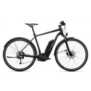 Cube Cross Hybrid Pro Allroad 500 E-hybride fietsen zwart 50 cm 2017 Elektrische hybride fietsen