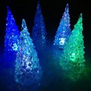 Mini LED karácsonyfa színváltós 12,5 cm