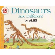 Dinosaurs Are Different by Aliki