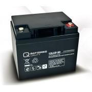 Batería de plomo AGM cíclica 12v 50Ah 12LCP-50 Q-Batteries