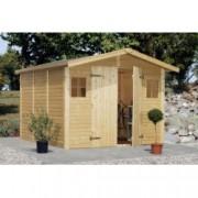 Cobertizo de madera Dan 2 de 273x280 cm. para Jardín