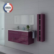 Distribain Meubles salle de bain URBAN AU Aubergine