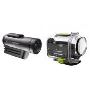 Camera Video Sport / Action Contour+2 : FullHD 1080p, Filmare in Super Slow Motion 120fps, Lentila rotativa 270grade, Reglaj laser, GPS, HDMI, Carcasa subacvatica