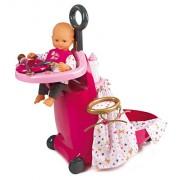 Smoby Toys – Baby Nurse – 7/220316 – Juego de Maleta con bebé – 3 en 1