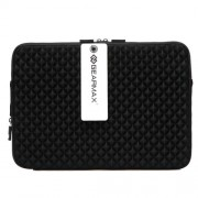 GEARMAX 15.4 inch Sleeve Case Bag with Diamond Grain for Laptop Notebook GM1703(Black)