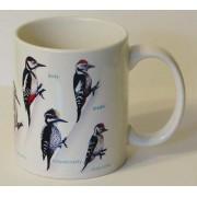 Kubek ornitologiczny (dzięcioły)