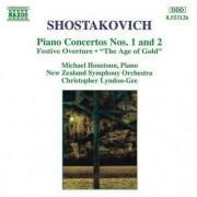 D Shostakovich - Piano Concerts 1 & 2 (0730099412629) (1 CD)
