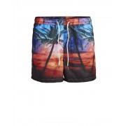 Jack & Jones Sunset Swim Shorts Amber Gold Badshorts Herr