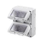 Gewiss GW27051 - Caja para cuadro eléctrico (132 mm, 65 mm, 171 mm) Gris