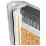 Profil PVC protectie ferestre si usi cu plasa PROTEKTOR