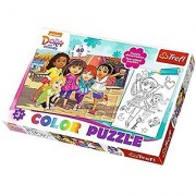 Dora and Friends Dora and Friends - 40pcs Color Jigsaw/Puzzles by Trefl