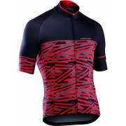 Northwave Point Break Jersey SS Men black-red XXL 2017 Radtrikots kurzarm