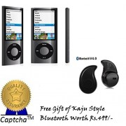 Captcha 4th GEN 7-in-1 4th Generation Portable MP4 Player (Assorted Color) with FREE GIFT Compatible with Sony Xperia T3