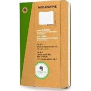 Pocket Squared Kraft Hard Evernote Journal with Smart Stickers 2 Set by Moleskine