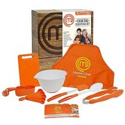 MasterChef Junior Cooking Essentials Set - 9 Pc. Kit Includes Real Cookware for Kids Recipes and Apron