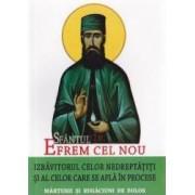 Sfantul Efrem Cel Nou izbavitorul celor nedreptatiti si al celor care se afla in procese