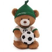 Gund Baby Teddy Bear and Rattle Little Kicker Soccer