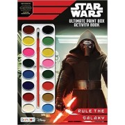 Set of 2 Star Wars Ultimate Paint Box Activity Book 'Rule The Galaxy' 64 Pages