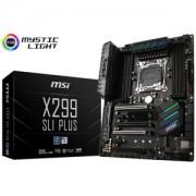 Placa de baza MSI X299 SLI Plus, socket LGA 2066