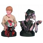Gentle Giant Studios Star Wars: Sebulba and Anakin Mini-Bust, 2-Pack by Gentle Giant Studios (English Manual)