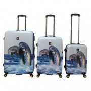 Saxoline National Geographic Trolley Set 3-teilig Dolphin
