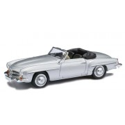 Busch Cars - BUV9838893 - Railway Modelling - Mercedes Benz - 190 SL Cabrio Offen