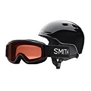 Smith Optics Zoom Junior/Gambler Goggle -, Children's, Zoom Jr/Gambler, Black, S