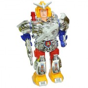 Battery Operated Musical Walking Robot With With Lights And Moving Fan