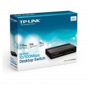 Switch TP-Link TL-SF1016D 16 puertos - Negro