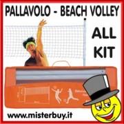 VOLLEYBALL SET SPORT 1 Rete, Pali, Borsa, ecc. ecc.