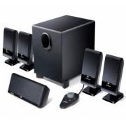 "BOXE 5.1 EDIFIER, RMS: 26W (3Wx4 + 4W + 10W), black, telecomanda pe fir, iesire casti ""M1550"" , BOXM1550 674669001001 (include timbru verde 1 leu)"
