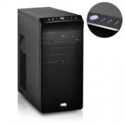 Advance Mini Wave Boîtier PC en acier avec Alimentation 480 W Micro-ATX/ITX Noir