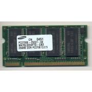 Samsung - 256 Mo - SO DIMM 200 broches - DDR - PC2700 ( M470L3224FTO-CB3 )