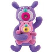 Cantando muñecas de trapo Duo WICHE En rosa púrpura Sing A Ma Jigs Cantar de Halo Ma bebé