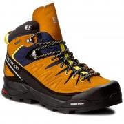 Туристически SALOMON - X Alp Mid Ltr GTX GORE-TEX 393251 27 V0 Navy Blazer/Bright Marigold/Empire Yellow