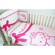 Hello Kitty Quilt & Bumper Set