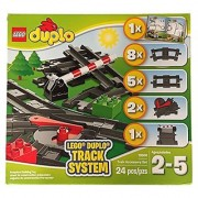 Lego Duple Track System 10506 Train Accessory Set 24pcs